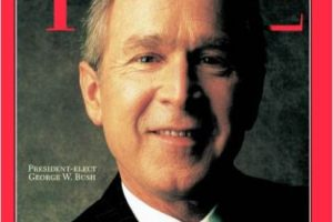 2000- George W. Bush Foto: Vía Time