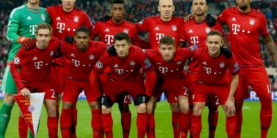 10. Bayern Múnich Foto: Getty Images