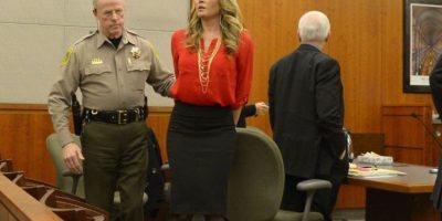 Brianne Altice aceptó haber tenido relaciones sexuales con tres estudiantes Foto:AP