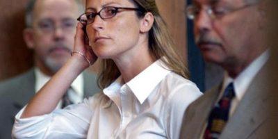 Amber Jennings, a sus 30 años fue acusada de tener relaciones con su alumno de 16 Foto:AP