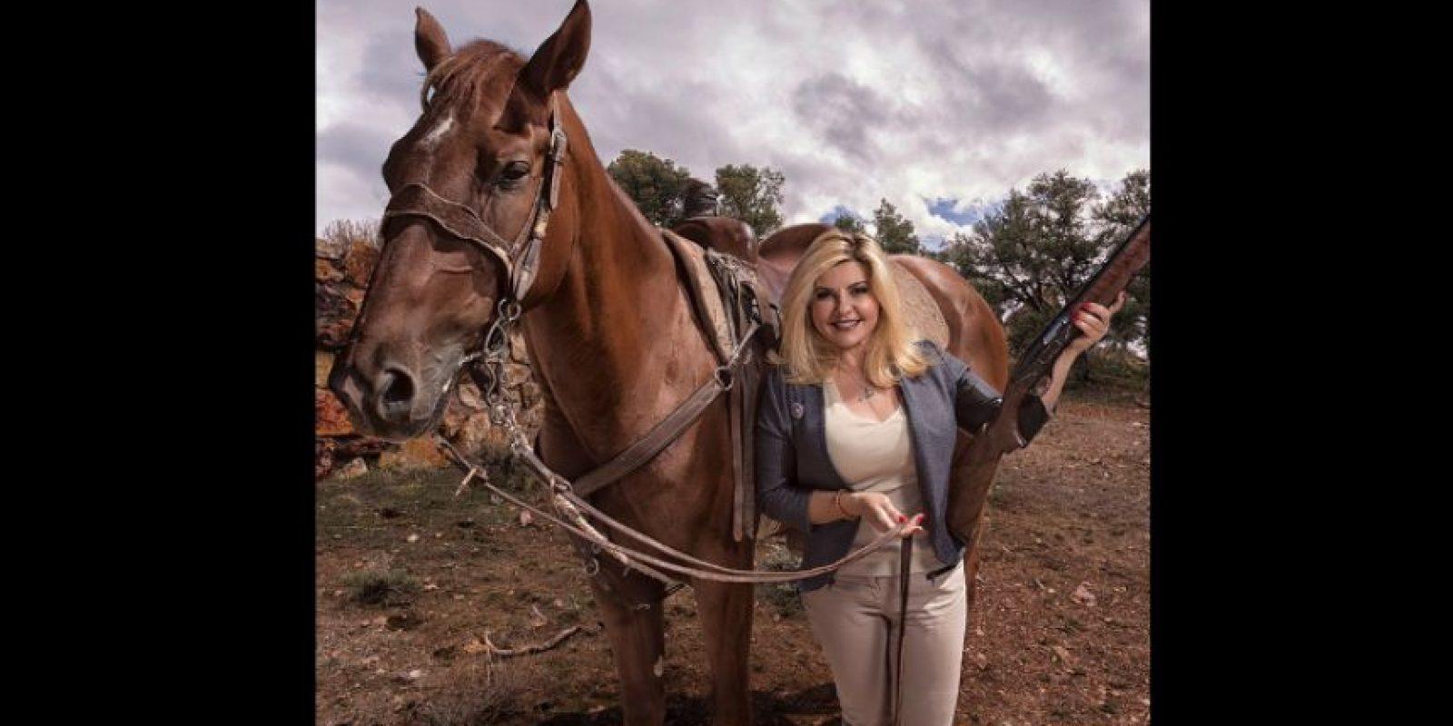 También está postulada al tercer distrito de Nevada del Congreso estadounidense para las elecciones de 2016. Foto:Vía Twitter.com/VoteFiore