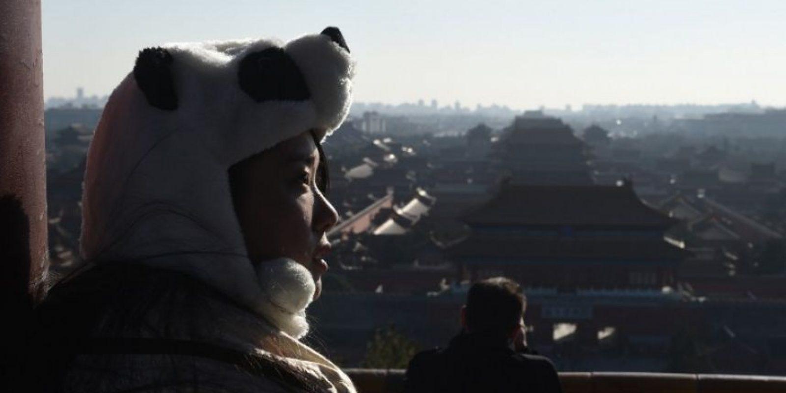 Se llegaron a registrar 400 microgramos por metro cubico de partículas PM 2.5 Foto:AFP