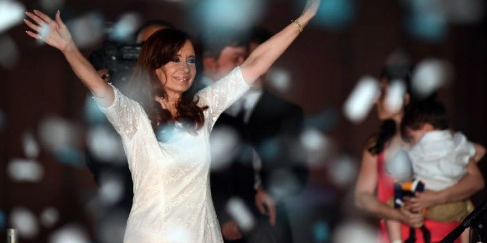 A la ceremonia no asistió Cristina Fernández de Kirchner Foto:AFP
