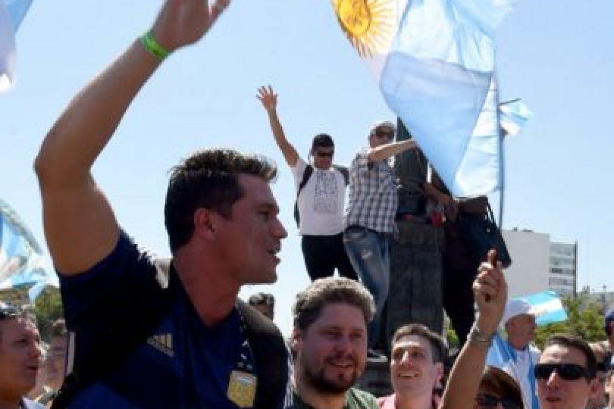 Y en la Casa Rosada Foto: AFP