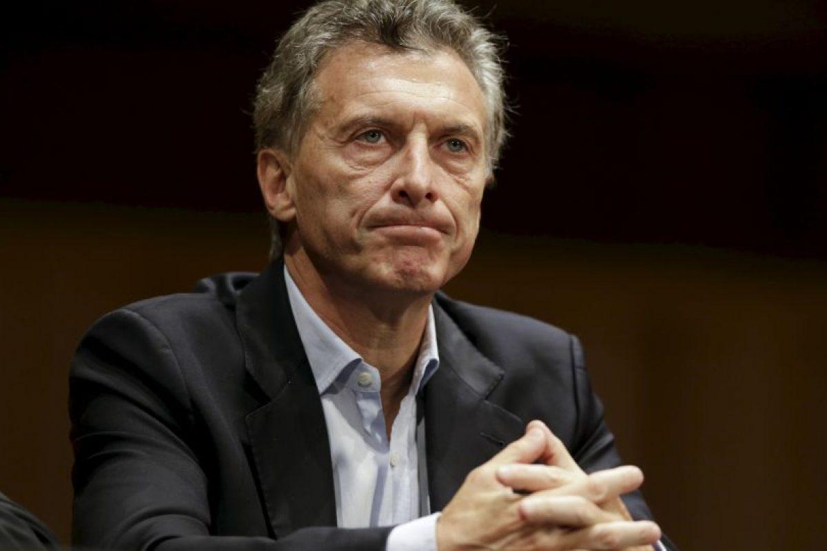 Ganó la presidencia con el 51.34% en el único balotaje celebrado en Argentina Foto:AP