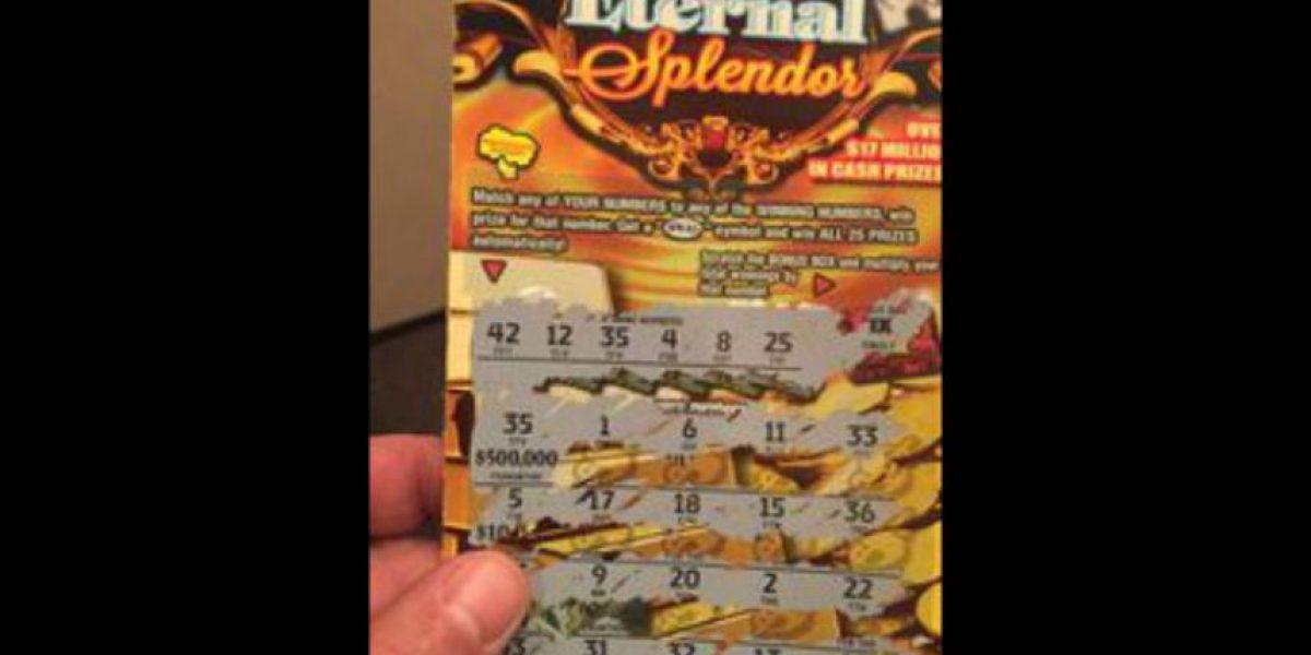Vagabundo gana 500 mil dólares en lotería