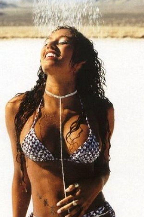 """Luego de separarse de las Spice Girls, en el año 2000 lanzó su álbum debut """"Hot"""" Foto:Getty Images"""