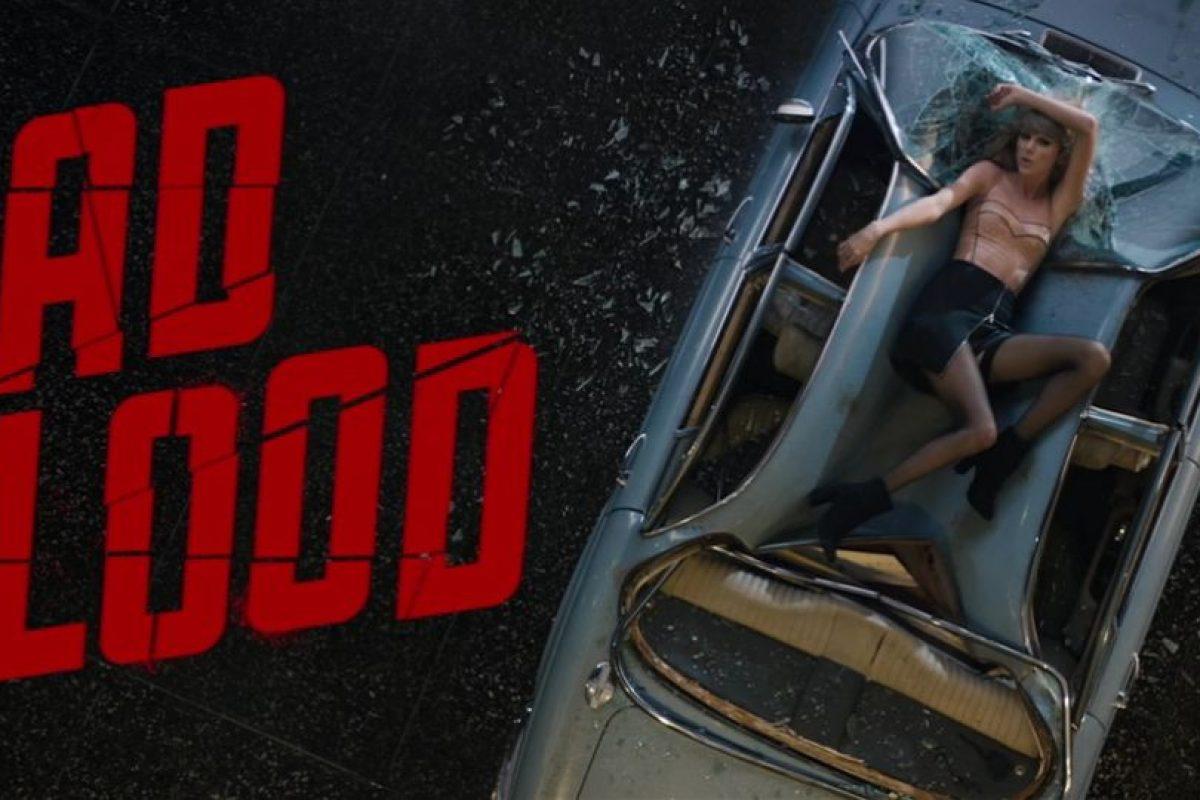 5- Taylor Swift – Bad Blood ft. Kendrick Lamar. Foto:vía YouTube