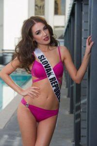 Denisa Vysnovsk tiene 20 años y es Miss Eslovaquia. Foto:vía missuniverse.com