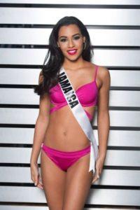 Sharlene Radlein tiene 25 años y es el rostro de Jamaica en esta competencia Foto:vía missuniverse.com