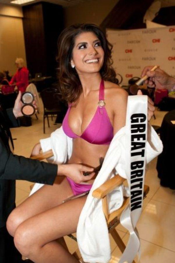 Nena Franc es la representante de Gran Bretaña Foto:vía missuniverse.com