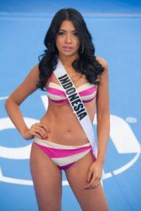 Anindya Putri tiene 23 años y es Miss Indonesia. Foto:vía missuniverse.com
