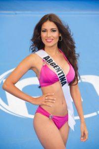 Claudia Barrionuevo de 24 años es Miss Argentina Foto:vía missuniverse.com