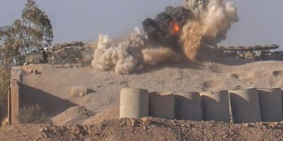 También del M16, del ejército de Estados Unidos Foto:Twitter.com – Archivo