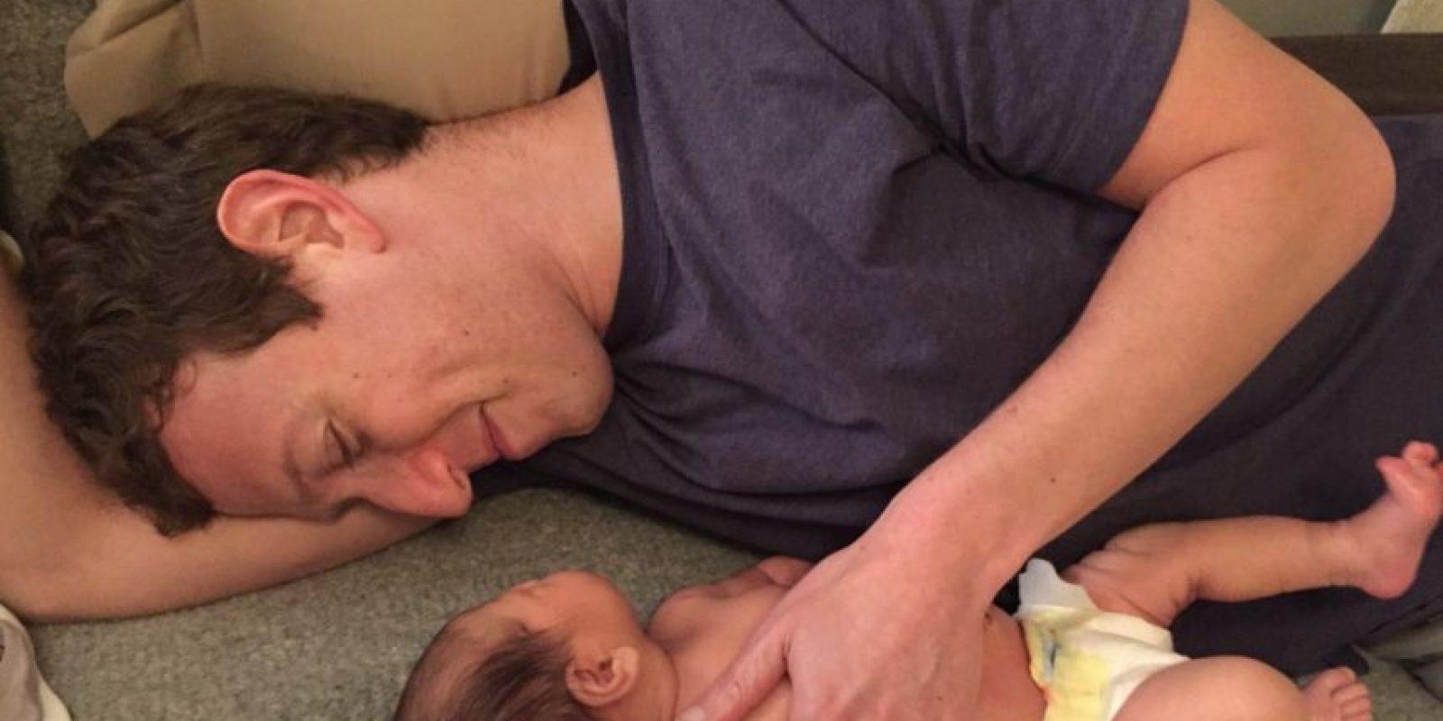 Mark Zuckerberg disfruta el tiempo con su hija. Foto:facebook.com/zuck