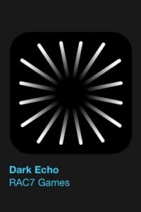 """4- """"Dark Echo"""". Designado como el más innovador. Cuesta 2 dólares. Abran bien los oídos para conseguir escapar de la oscuridad que los rodea. Foto:vía Apple"""