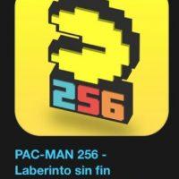 """15- """"PAC_MAN 256 – Laberinto sin fin"""". Es gratuito. Las cerezas son rojas. Los fantasmas son azules. Muerdan una Pac-Bola ¡y verán cómo mola! Foto:vía Apple"""