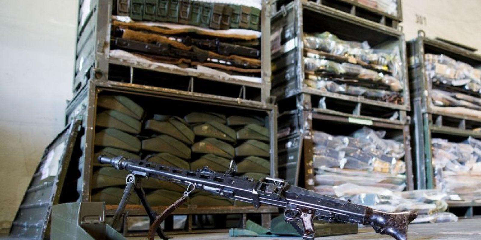 """""""La cantidad y variedad de las existencias de armas del EI reflejan -en definitiva- decenios de transferencia de armas irresponsables a Irak"""", informa Amnistía Internacional Foto:Getty Images"""