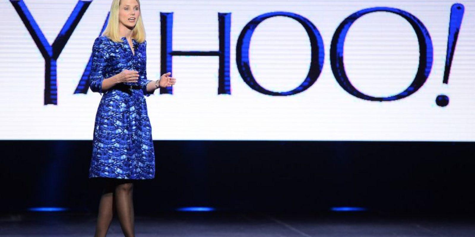 Es CEO de Yahoo! desde 2012. Foto:Getty Images