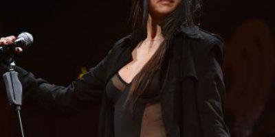 ¿Amante de las transparencias? Miren el revelador vestido de Selena Gómez