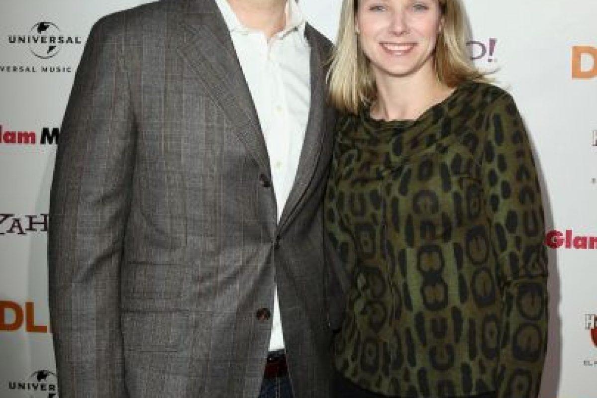 Marissa Mayer y Zachary Bogue se casaron en 2009. Foto:Getty Images