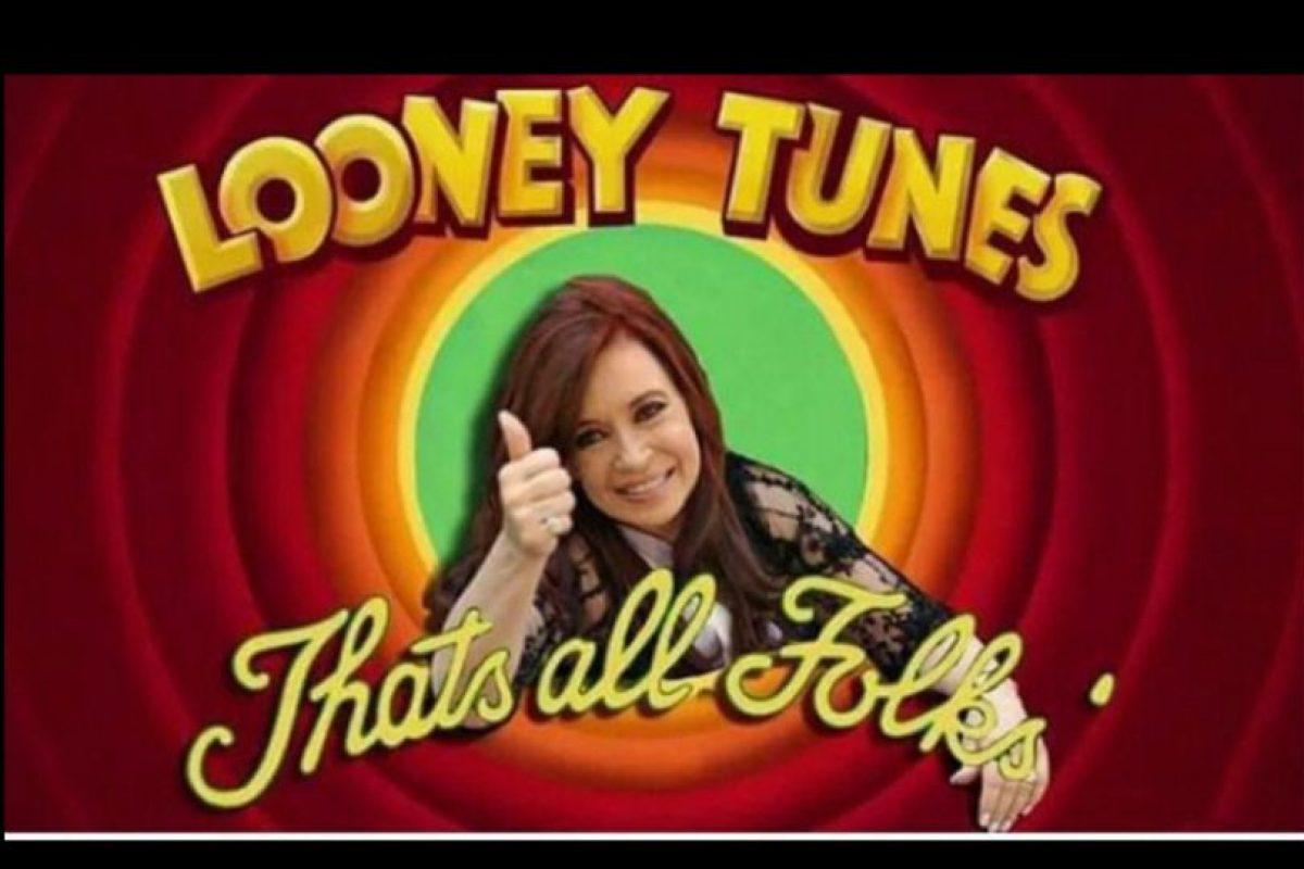 La expresidenta Cristina Fernández tampoco escapó de los memes Foto:Twitter.com