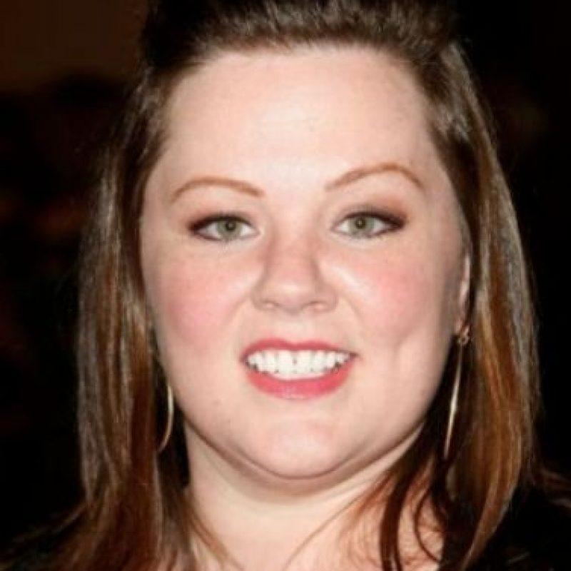 Melissa McCarthy se veía así en 2008. Foto:vía Getty Images