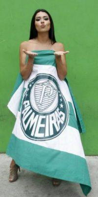 Ella es hincha de Palmeiras Foto:Vía instagram.com/portalcinvallentim