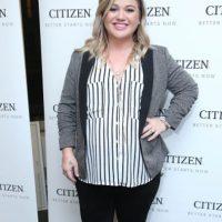 A Kelly Clarkson le pasó lo mismo. Foto:vía Getty Images