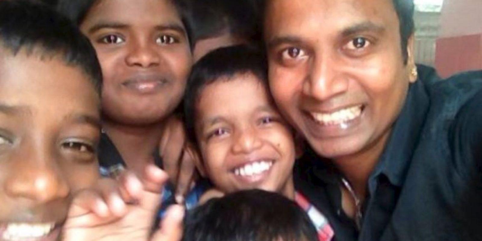 Sunder Ramu ha salido con mujeres en todo su país. Foto:vía Barcroft