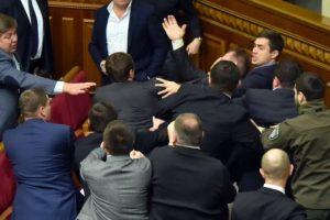 Que involucró a diversos diputados Foto:AFP
