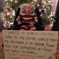 La historia de Jaxon Buell, el niño que sorprende a todos los médicos Foto:Facebook.com/BrandonBuell