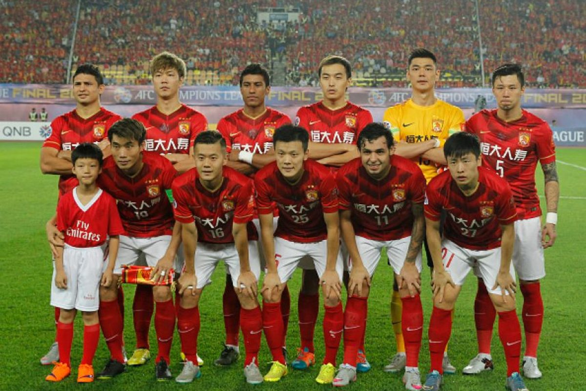 4. Guangzhou Evergrande Foto: Getty Images