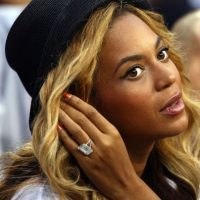 Jay Z le regaló a Beyoncé un anillo de 15 quilates. Foto: Getty Images