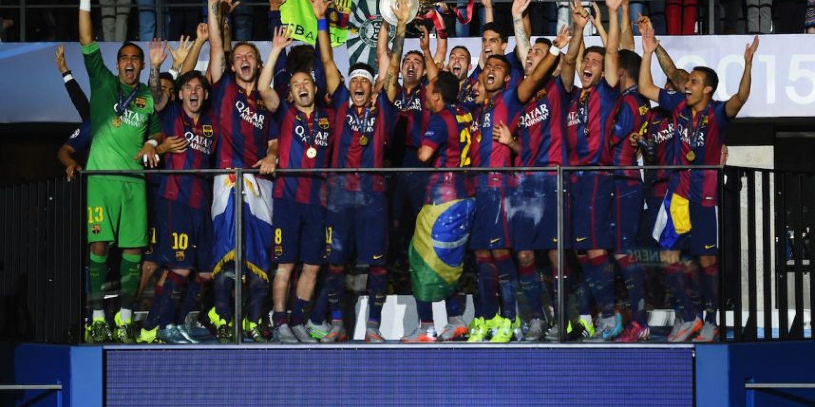 Representante de la UEFA (Europa). Foto:Getty Images