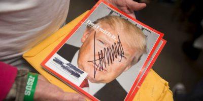 A favor y en contra, estas son las imágenes más destacadas de los actos de campaña de Donald Trump Foto:Getty Images