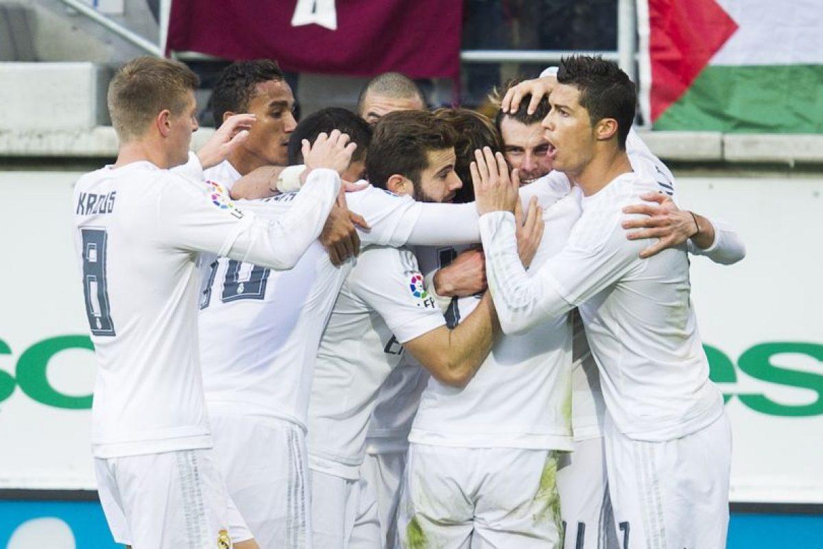 Real Madrid tuvo una semana de contrastes: primero, quedó eliminado de la Copa del Rey por alineación indebida ante Cádiz. Foto:Getty Images