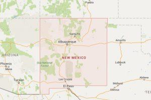 La cual está ubicada en Nuevo México al sur de estados Unidos. Foto:Google maps