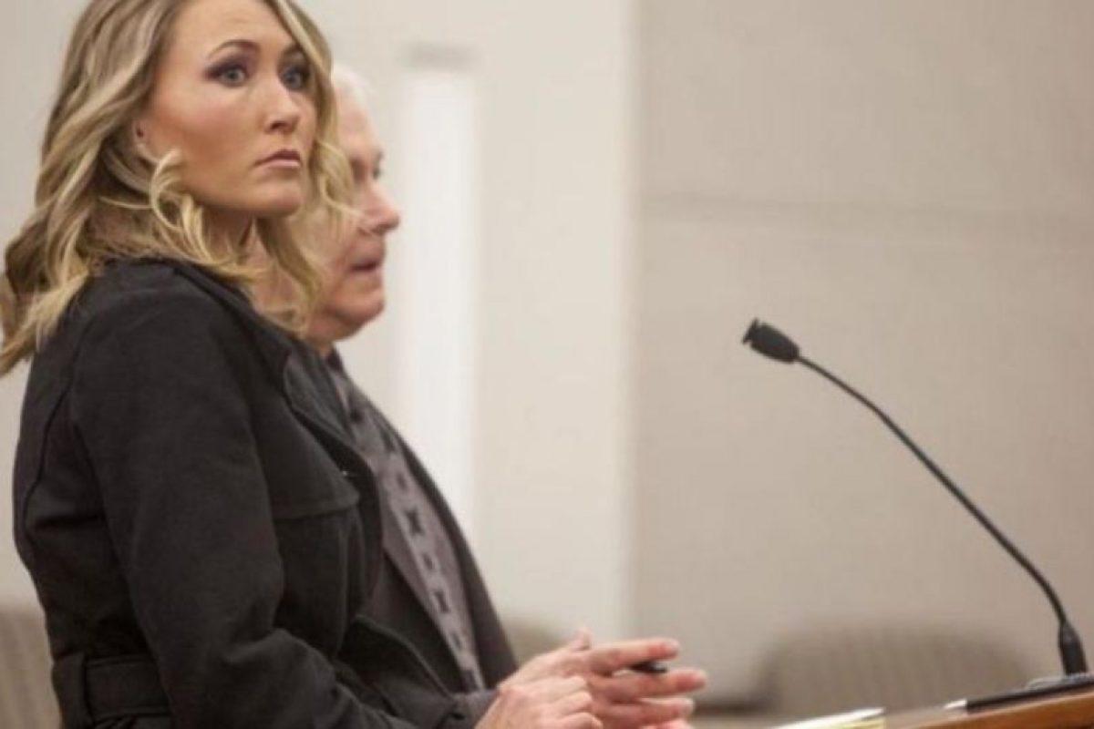Brianne Altice tuvo sexo con tres estudiantes de secundaria Foto:AP