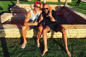 """De hecho, el diario británico """"The Sun"""" aseguró que Cristiano y Hari mantenían una relación homosexual. Foto:Vía instagram.com/Cristiano"""