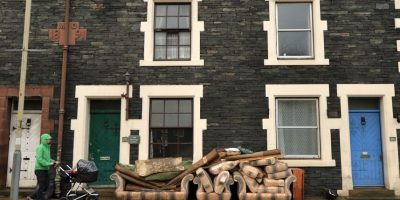 Inundaciones en Inglaterra. Foto:AFP