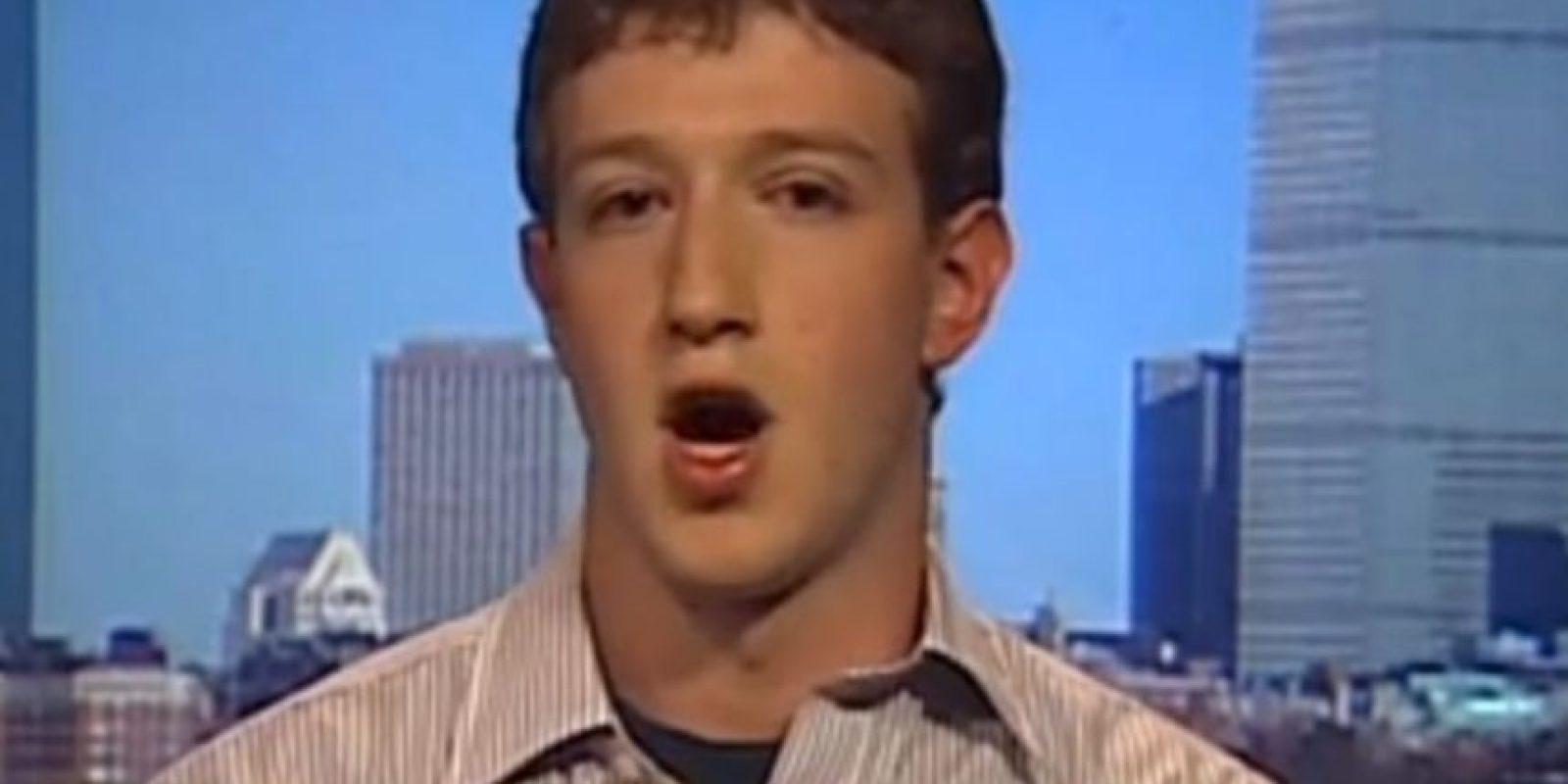El fundador de Facebook hablaba de sus 100 mil seguidores. Foto:CNBC