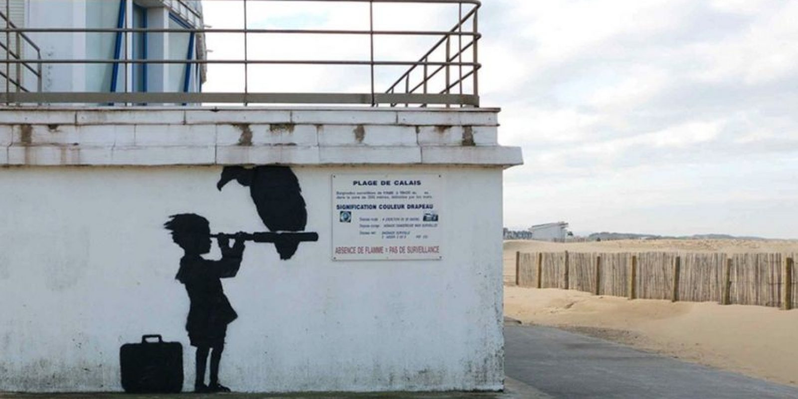 Foto: vía banksy.co.uk