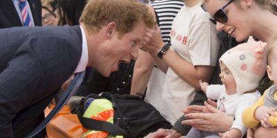 2015- Durante su gira por Nueva Zelanda Foto:Getty Images
