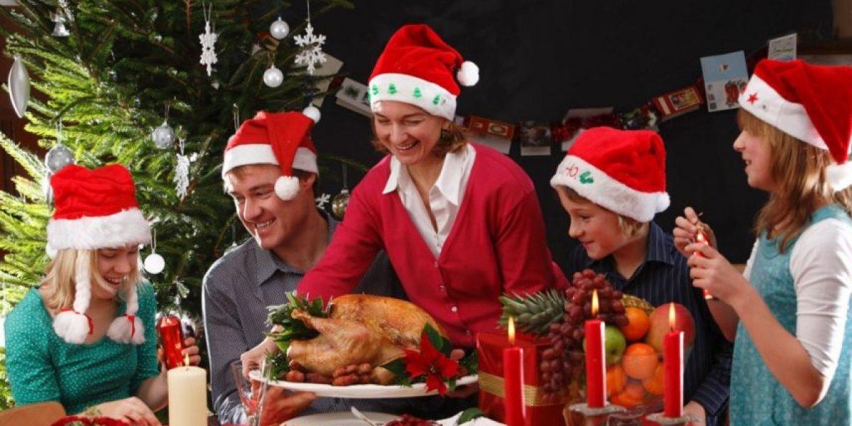 Estudio revela cuánto engordarás en Navidad