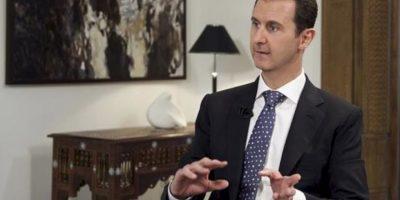 3. Presidente de Siria, Bachar al Asad desmintió que Rusia construiría una base en Siria. Foto:Vía Youtube