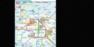 Estas son sus rutas. Foto:Captura de Pantalla