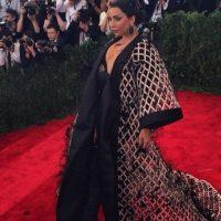 """Así como su disfraz de """"Rita Repulsa"""" en la gala del MET. Foto:vía Getty Images"""