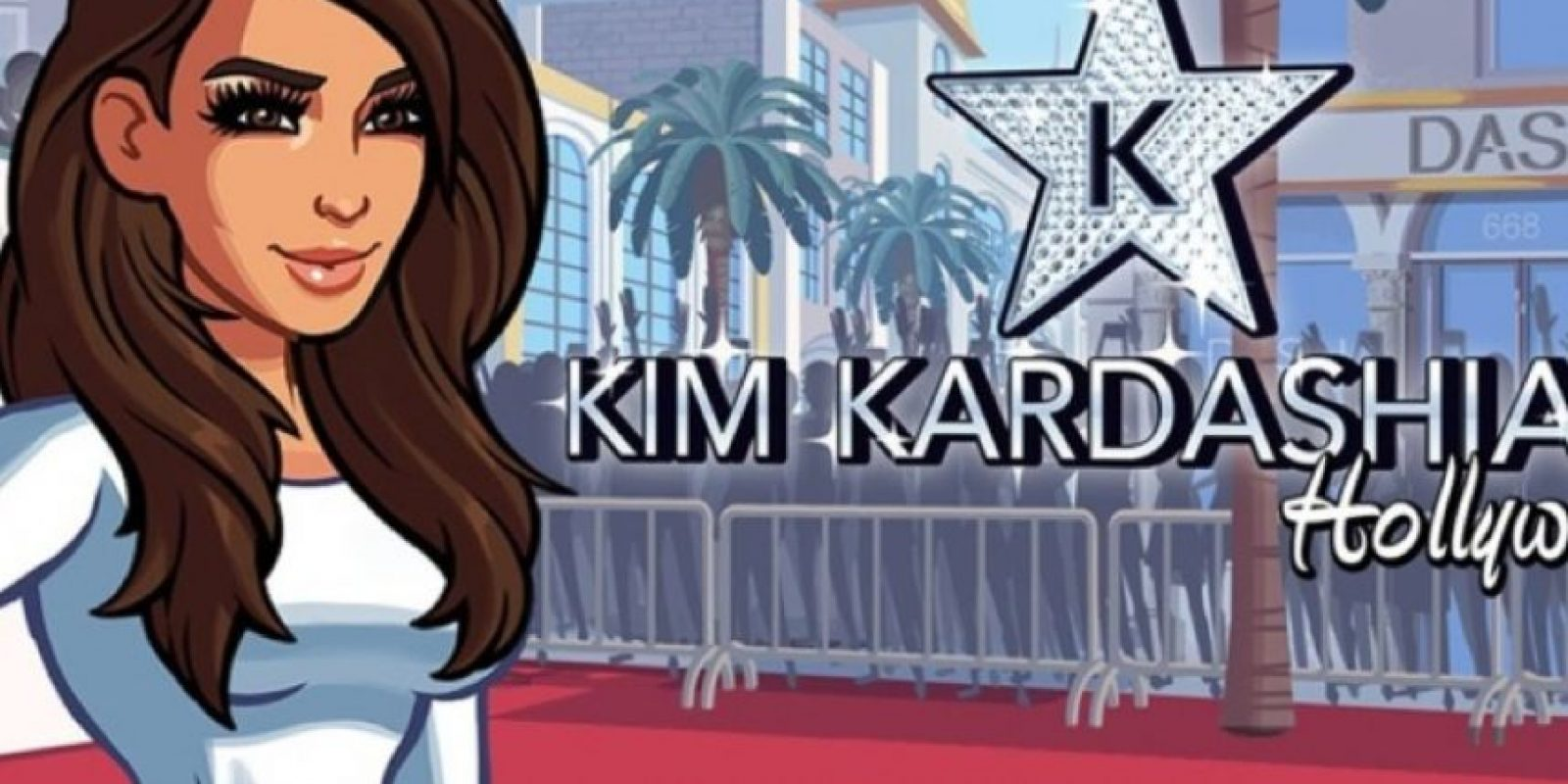 4. Su videojuego vale una fortuna. Foto:vía Kim Kardashian Hollywood