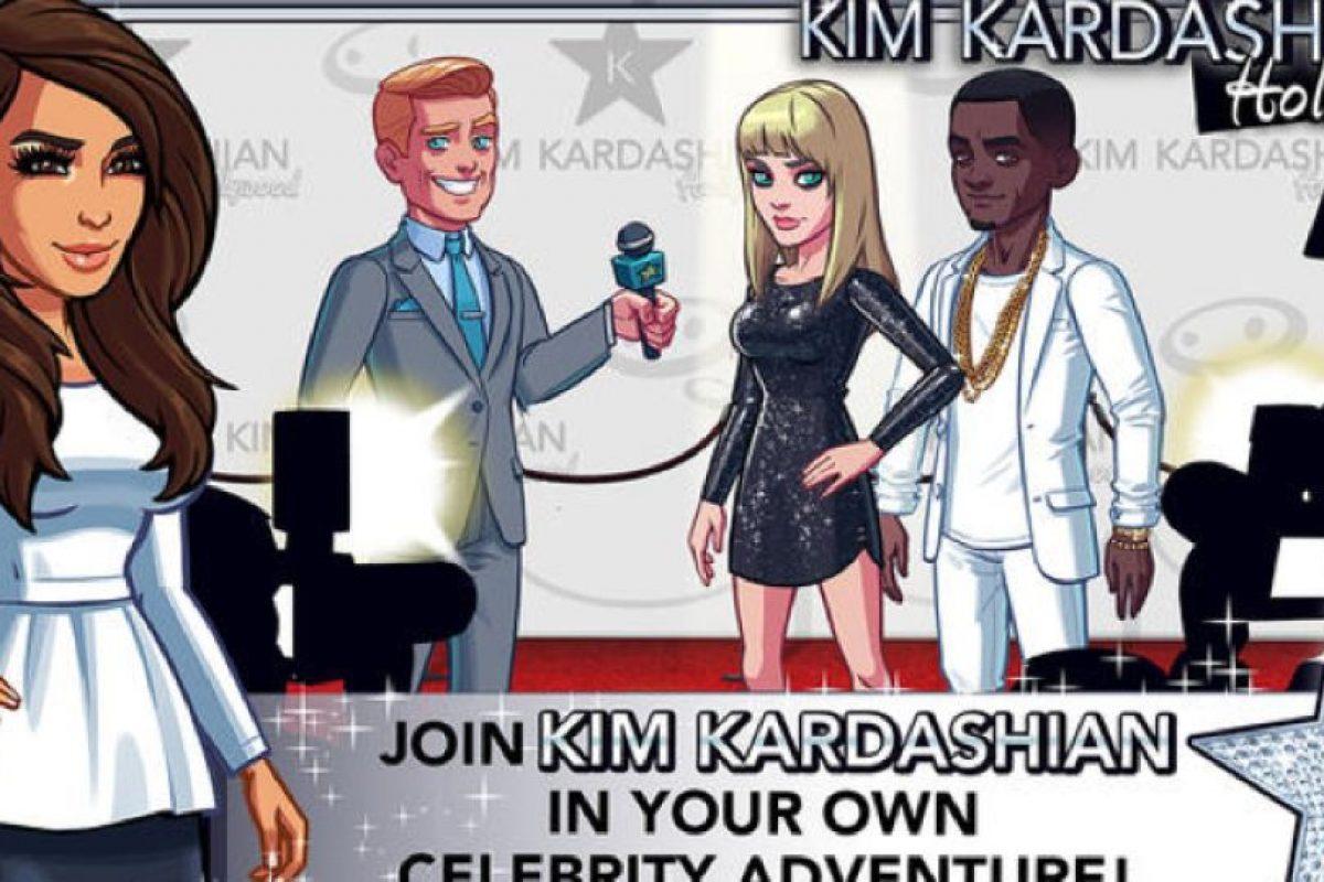 Ella se llevó el 45% de las regalías del juego. Foto:vía Kim Kardashian Hollywood